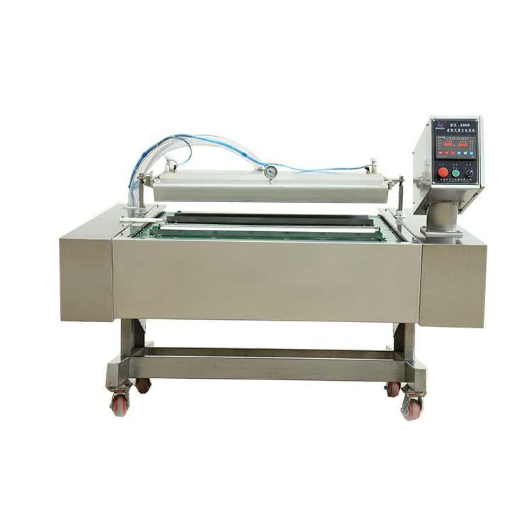 continuous vacuum packing machine