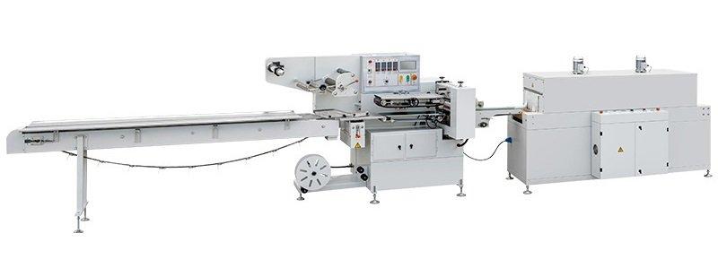 HFFS flow pack shrink wrap machine