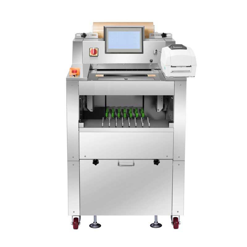 vegetables wrapping machine