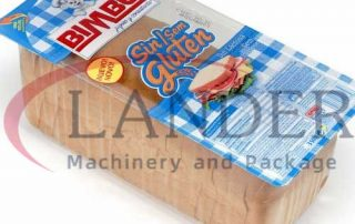Sliced bread MAP packaging in thermoforming film