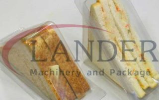 Sandwich MAP packaging in thermoforming rigid film